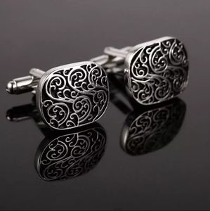 Stainless Steel Cuff Links French Shirt High Quali